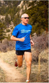 Terry Chiplin Owner of Active At Altitude Running Camp in Estes Park Co.
